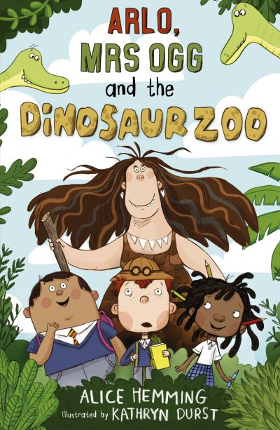 Arlo Mrs Ogg and the Dinosaur Zoo Cover LR RGB JPEG